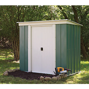 Rowlinson Metal Pent Shed W/O Floor 6x4