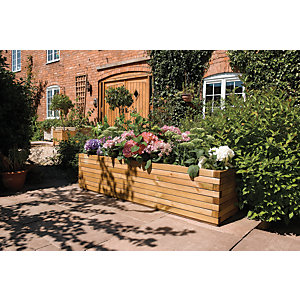 Wickes Large Timber Patio Planter