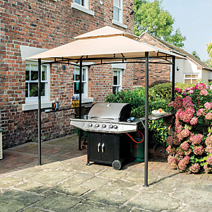 Roma Bbq Outdoor Garden Gazebo