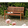 Wickes Willington Hardwood Bench 690mmx1.24m