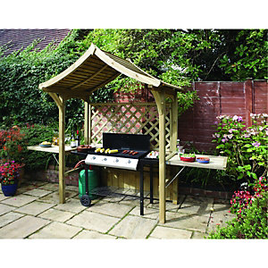 Rowlinson Party Arbour Natural