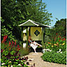 Rowlinson Haven Corner Arbour 1.73x2.55x2.55m Natural
