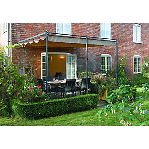 Rowlinson St. Tropez Retractable Canopy 2.7 x 3.3 x 2.7m Grey