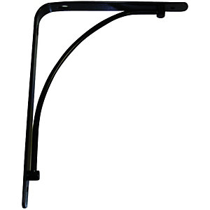 Wickes Danni Decorative Bracket Black 230x180mm