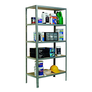 Wickes 5 Tier Metal Shelving Unit 175kg