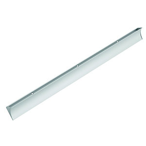 Wickes Aluminium Rail Bracket For Glass 600mm
