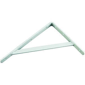 Wickes Heavy Duty Bracket White 295x210mm
