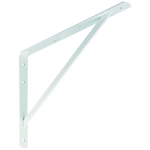 Wickes Heavy Duty Bracket White 395x270mm