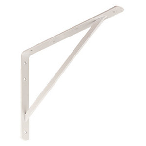 Wickes Heavy Duty Bracket White 495x330mm