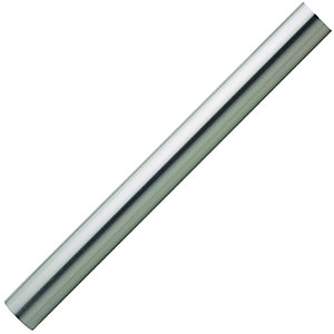 Wickes Brushed Nickel Handrail 40x3600mm