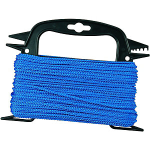 Wickes Blue 3mm Multi-function Rope 3000mm