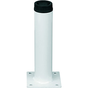 Wickes Round Furniture Leg White 32x150mm