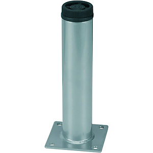Wickes Round Furniture Leg Grey 32x150mm