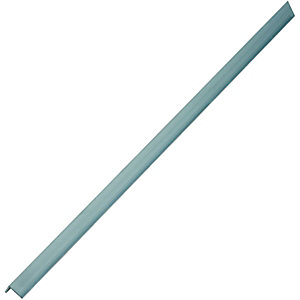 Wickes 15.5mm x 15.5 Multi Purpose Aluminium Angle 1000mm