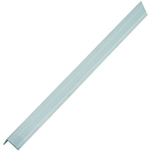 Wickes 23.5mm x 23.5 Multi Purpose Aluminium Angle 2500mm