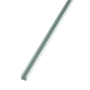 Wickes 15.5mm Multi-Purpose White PVC U Section 1000mm