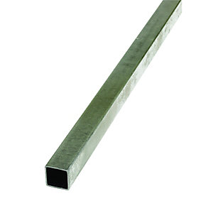 Wickes Multi-Purpose Steel Rectangle Tube 20x30x1000mm