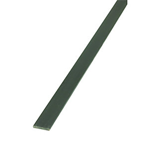 Wickes 23.5mm Multi-purpose Galvanised Steel Flat Bar 1000mm