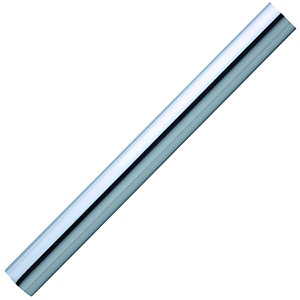 Wickes Polished Chrome Effect Finish Handrail 40 x 2400mm