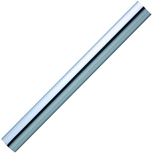 Wickes Polished Chrome Effect Finish Handrail 40 x 1800mm