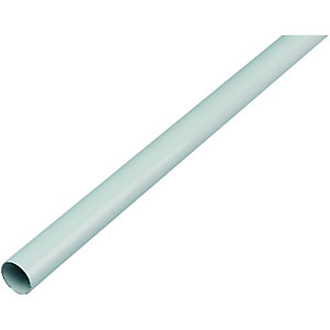 Wickes Multi Rail Tube 19mmx1.82m White