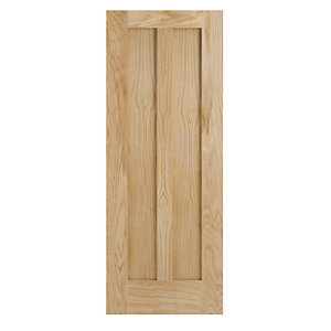 Wickes Hitchin Internal Oak Veneer Door 2 Panel 1981x610mm