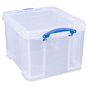 Really Useful Box - 35L Clear