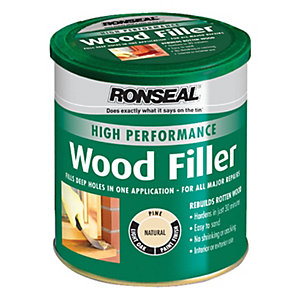 Ronseal High Performance Wood Filler Natural 1kg