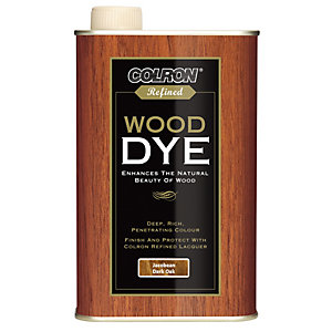 Ronseal Colron Refined Wood Dye Jacobean Dark Oak 250ml