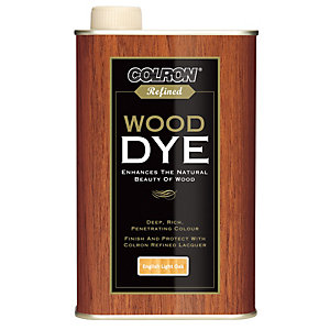 Ronseal Colron Refined Wood Dye English Light Oak 250ml