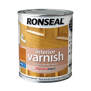 Ronseal Interior Varnish Satin Antique Pine 750ml
