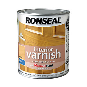 Ronseal Interior Varnish Satin Beech 750ml