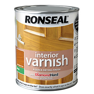 Ronseal Interior Varnish Matt Antique Pine 750ml