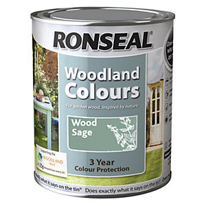 Ronseal Woodland Trust Colour Wood Sage 750ml