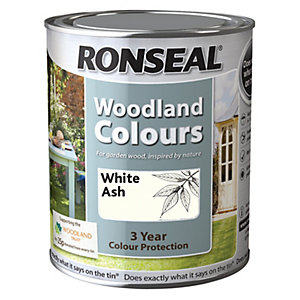 Ronseal Woodland Trust Colour White Ash 750ml