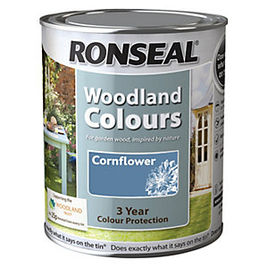 Ronseal Woodland Trust Colour Cornflower 750ml