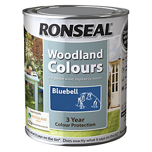 Ronseal Woodland Trust Colour Bluebell 750ml