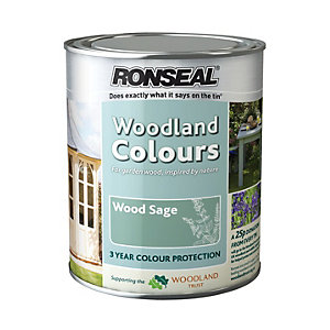 Ronseal Woodland Trust Colour Wood Sage 2.5L