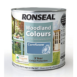 Ronseal Woodland Trust Colour Cornflower 2.5L