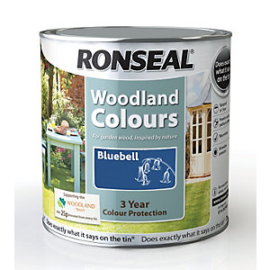 Ronseal Woodland Trust Colour Bluebell 2.5L