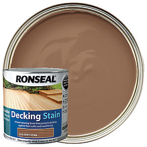 Ronseal Ultra Tough Deck Stain Golden Cedar 2.5L