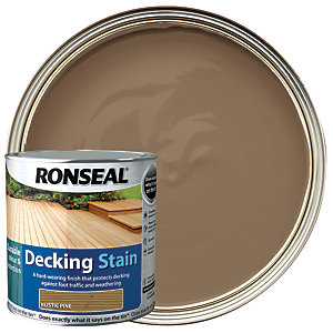 Ronseal Ultra Tough Deck Stain Rustic Pine 2.5L