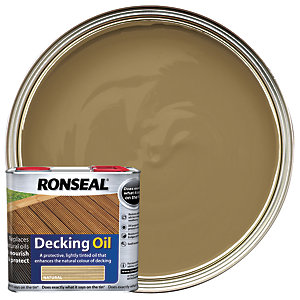 Ronseal Decking Oil Natural 2.5L