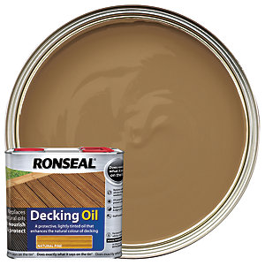 Ronseal Decking Oil Natural Pine 2.5L