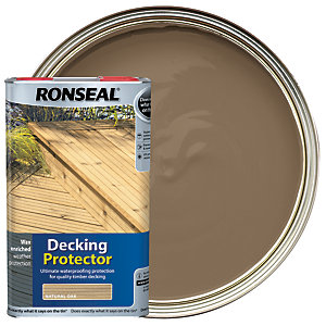 Ronseal Decking Protector Natural Oak 5L