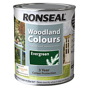 Ronseal Woodland Trust Colour Evergreen 750ml