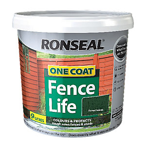 Ronseal One Coat Fencelife Forest Green 9L