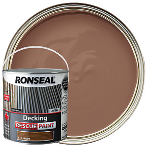 Ronseal Decking Rescue Paint 2.5L Chestnut