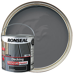 Ronseal Decking Rescue Paint 2.5L Charcoal