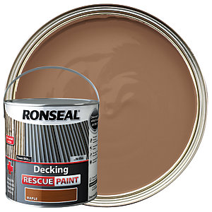 Ronseal Decking Rescue Paint 2.5L Maple